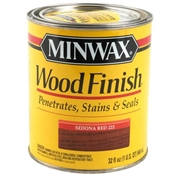 Wood Finish Oil Based Sedona Red 1 Quart