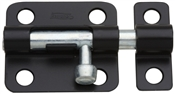 "2-1/2"" Barrel Bolt, Black"