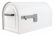 White Locking Mailbox