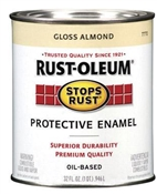 Stops Rust Protective Enamel Almond