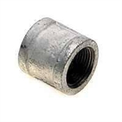 "1/2"" Wrought Steel Coupler Galvanized"