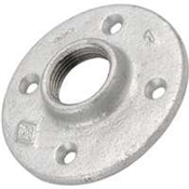 "1/2"" Galvanized Floor Flange"