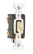 Premium 3-Way Toggle Switch, 15A, Ivory