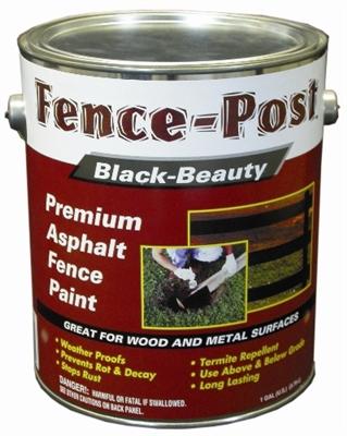 Shop Black Beauty Premium Asphalt Fence Post Paint 3 76