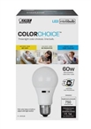 LED Intellibulb Light Bulb, 3-Colors-in-1, 9.5-Watts
