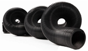 20' RV Standard Sewer Hose - 12 Mils - Black