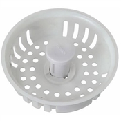 Replacement Adjustable Post Plastic Strainer Basket