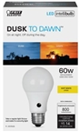 9.5W Intelli Dusk to Dawn LED Bulb