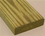 "2x4-8' (Actual: 1-1/2""x3-1/2"") #1 Above Ground Treated Pine"
