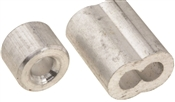 National Hardware N283-895 Ferrule And Stop, 5/32 In, 520 Lb, Aluminum