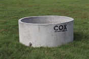 "210 gallon concrete round tank 59""D"