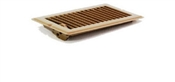 "4""X8"" Mobile Home Floor Register Brown"