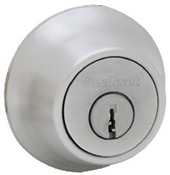 Single Cylinder Mobile Home Deadbolt, Satin Chrome