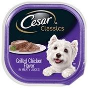 Cesar Select Grilled Chicken Dinner Dog Food, 3.5 Oz.
