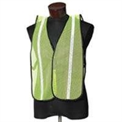 Safety Vest - ESK High Visibility - Lime with White Prismatic Tape