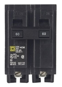 Square D Homeline HOM260CP Miniature Circuit Breaker, 120/240 V, Fixed Trip, Plug-In Mounting