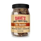 Daves Tofee Milk Chocolate, 4 OZ