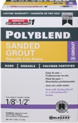 Polyblend Sanded Grout Sandstone 7 lbs