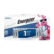 Energizer L92SBP-12 AAA Batteries, 12 Pack