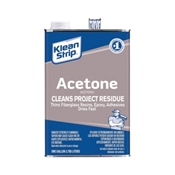 Klean Strip GAC18 Acetone Thinner, 1 gal Can