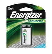 Rechargeable Battery, 9 V, Nickel-Metal Hydride