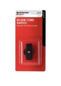 In-Line Cord Switch, Brown