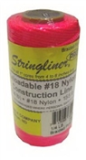 Stringliner #1/4 Braided Construction Line 250' Fluorescent Pink