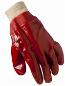 Grease Monkey, Large, Men's, Red, PVC Coated Glove
