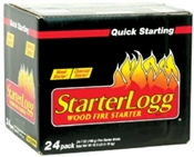 Wood Fire Starters 24 Pack