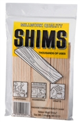 "6"" Pine Wood Shims, 9 Pack"