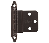 """Hinge Cabinet Selfclosing 3/8"""" Inset Oil Rubbed Bronze"""