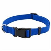 "Pet Expert Dog Collar, Blue, 1"" x 18-26"""