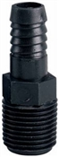 """1/2"""" Male Iron Pipe Thread x Barb Male Adapter"""