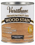 Varathane Fast Dry Traditional Pecan Wood Stain Qt