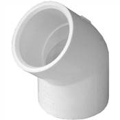 "1"" 45 Elbow Schedule 40 PVC"