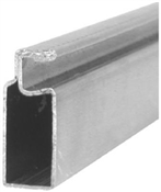"3/4"" x 5/16"" x 94"" Mill Aluminum Screen Frame"