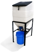 Bulk Feed Bin with Stand 270lb Capacity