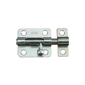 "2-1/2"" Barrel Bolt, Zinc"