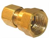 """1/4"""" Compression x 1/4 Female Pipe Thread"""