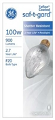 100 Watt Saf-T-Gard Outdoor Post Bulb