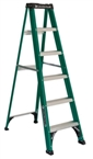 6' Fiberglass Type II Step Ladder