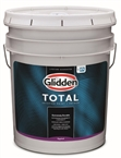 Glidden Total Interior Paint + Primer, White Eggshell, 5 Gallon