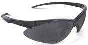 Safety Glasses, Smoke Hard Coated, Black