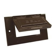 GFCI Horizontal Mount Cover -  Bronze