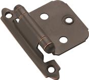 Amerock BPR3429ORB Cabinet Hinge, Steel, Oil-Rubbed Bronze