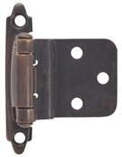 "3/8"" Offset Self-Closing Cabinet Hinge - Classic Bronze"