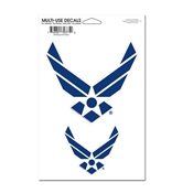 "4.5"" x 7"" US Air Force Multi-Use Decal"