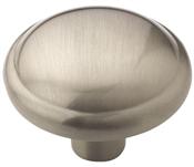 1-1/4 in (32 mm) Diameter Knob - Satin Nickel