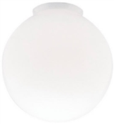 Westinghouse 8557000 Light Shade, Globe, Glass, White