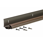"DB347C36 36"" Brown Vinyl Door Bottom"
